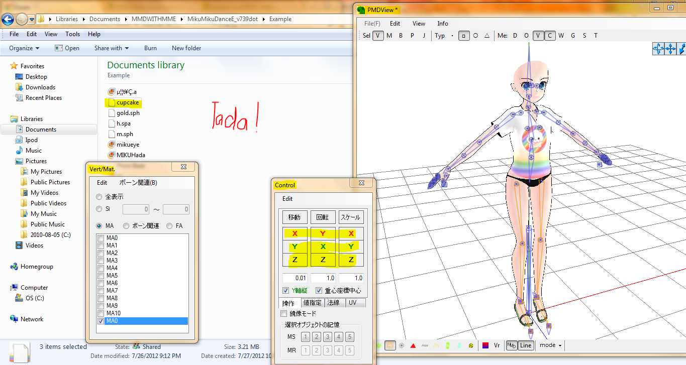 Adding Parts In Pmdeditor Is Easier Than You Think Mmd 7 39