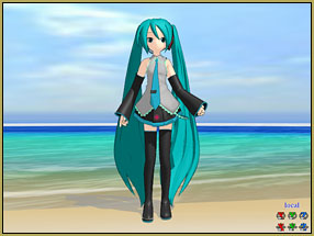 BDiscard the Display Coordinate Axis and add the included Skydome to get the sand in your shoes on MMD Batokin Island.atokinAddSky