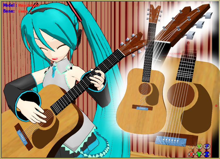 Click to see Reggise Dentmore's MMD Folk Guitar images Full Size!