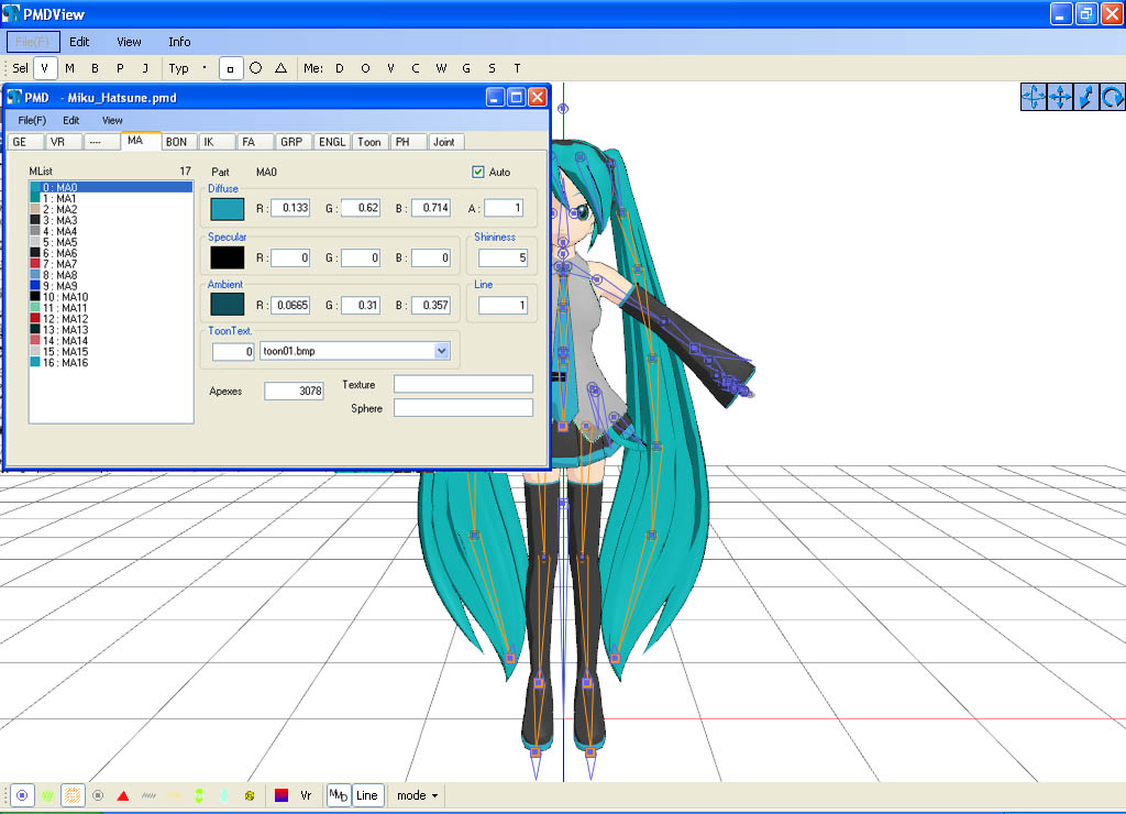 pmd editor basics now in english modify your mmd models
