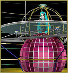 This amazing MMD Cage Stage is beautiful and flexible!