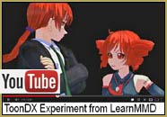 Here's the MMD video I made to demonstrate the Beamman's MME ToonDX effect.   MikuMikuDance on LearnMMD.com