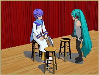 The new MMD Stool Accessory looks great alone or in groups. They really add life to the scene.