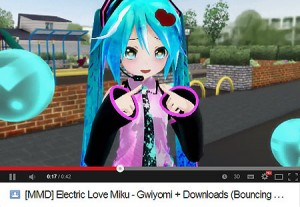 An example of how I set out my MikuMikuDance videos on YouTube. MMD LearnMMD.com