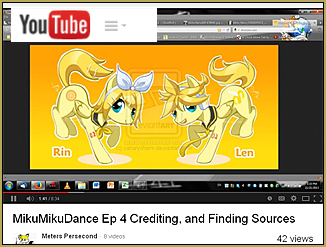"""LearnMMD's """"Meters Persecond"""" created a Keep the Faith-MMD video."""