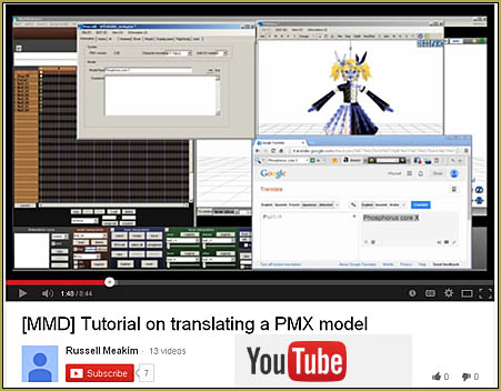 See my YouTube video showing how to translate PMX models into English using a PMX editor! ... LearnMMD.com