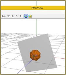 See our Pumpkin accessory in PMDE.