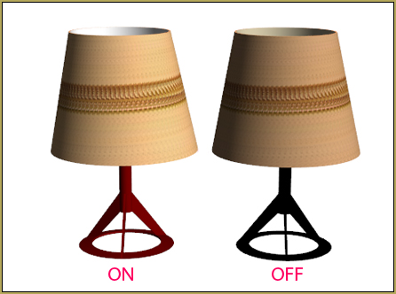 Download Reggie's table lamp accessory from the LearnMMD.com Downloads page.