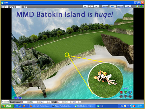 You can get lost on MMD Batokin Island ... what a way to go!
