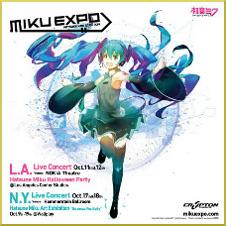 Miku Expo 2014 LA-NY poster