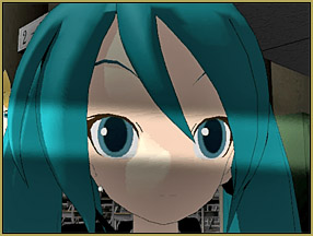 Miku's ears are burning as the boys talk about her! Reggies Evil Eye Effect