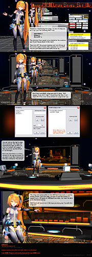 See the set-up comic included with your LearnMMD Stage download.