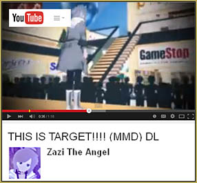 Zazi's Original THIS IS TARGET video that he turned into a meme for MMD users.