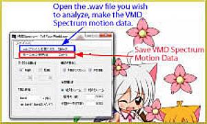 Download VMDSpectrum Analyzer to create VMD files