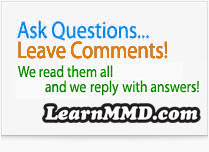 LearnMMD.com is all about helping MMDers... Ask questions; Get answers! ... email Reggie D with your questions!