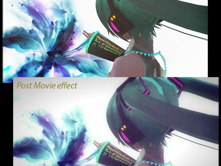 Beamman S Post Movie Effect Learn Mikumikudance Mmd