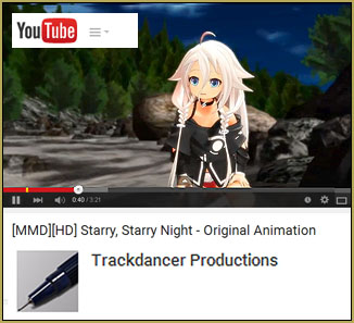 Trackdancer's new IA-chibi video is so soft and wonderful. SEE it on YouTube!