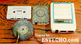 """Ancient media... for the longest time, TAPE was the """"thing""""!"""