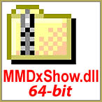 Download mmdxshow.dll 64-bit from LearnMMD.com and drop the new file into your DATA folder. Fix the cannot find MMDxShow.dll error!