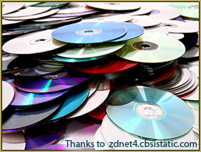 Old CDs... will CDs become extinct? ... print a hard copy of your art!