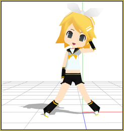With th required motions modified to fit her, Nano Rin is comfortable in this dance!