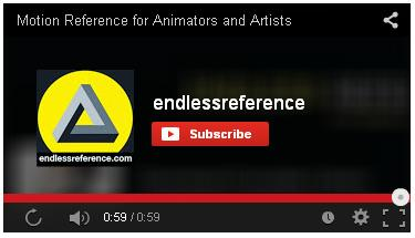 Endless Reference motion refrerence videos for Animators on YouTube are a great resource for MMDers... or ANY animators!