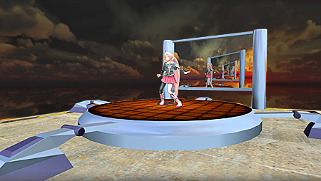 You can build your own stage for MikuMikuDance using the Blender 3D modeling software.