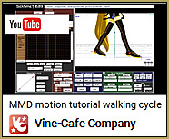 See the Vine-Cafe video for a nice video tutorial on creating a nice walk-in-place motion.