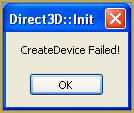 CreateDevice_Error