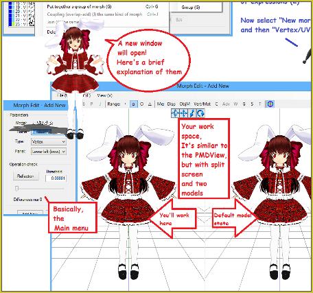 PMX Editor - Learn MikuMikuDance - MMD Tutorials - Free 3D