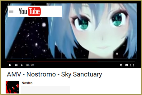 """""""AMV - Nostromo - Sky Sanctuary"""" by Nostro... see it on YouTube!"""