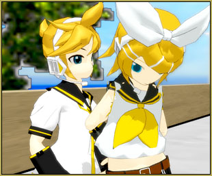 """Saved poses let me use my Stand Dejected Pose in my """"Rin Needs a Hug"""" video!"""
