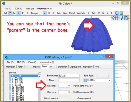When you use clothes from other models, they may attach to your model's Center Bone instead of their proper placement.