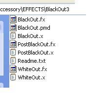 BlackoutMenu