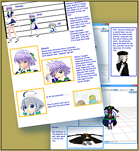 Make a Chibi Model by LearnMMD's Silent Headset!