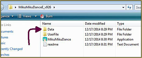 We will be making changes to the Color.txt file inside the Data folder as we customize the MMD interface.
