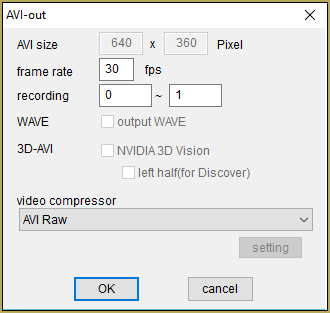 IrfanView captures single-frame images from Video AVI files!