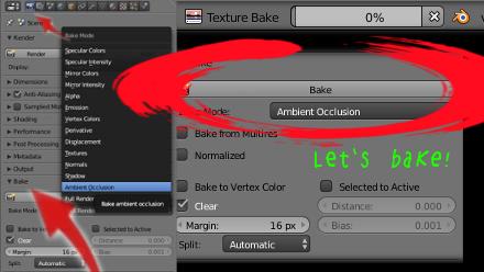 Blender Bake
