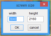Set your screen size to 4K to render in that resolution