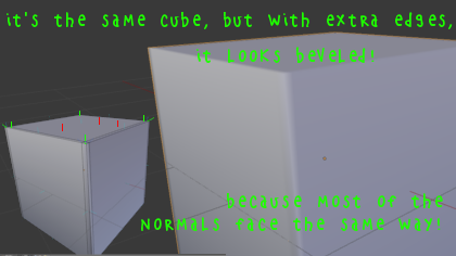 Teto shows how to create a sharper cube.