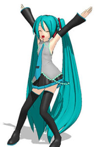 We LOVE Miku Hatsune!