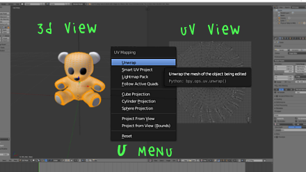UV unwrapping MMD models in Blender with MMD Tools