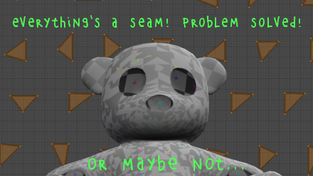 If everything is a seam, nothing is a seam!