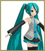 Load the model Miku.