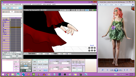 Get Reggie's Hand Pose pack from the LearnMMD.com Downloads page.