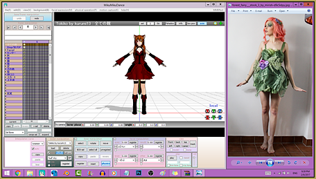 Load your reference image and open it in a window so you can see it side-by-side with your MMD GUI.