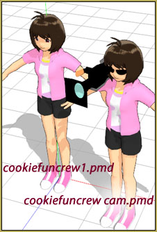 Cookie Fun Crew models... cookiefuncrew1.pmd and cookiefuncrew cam.pmd