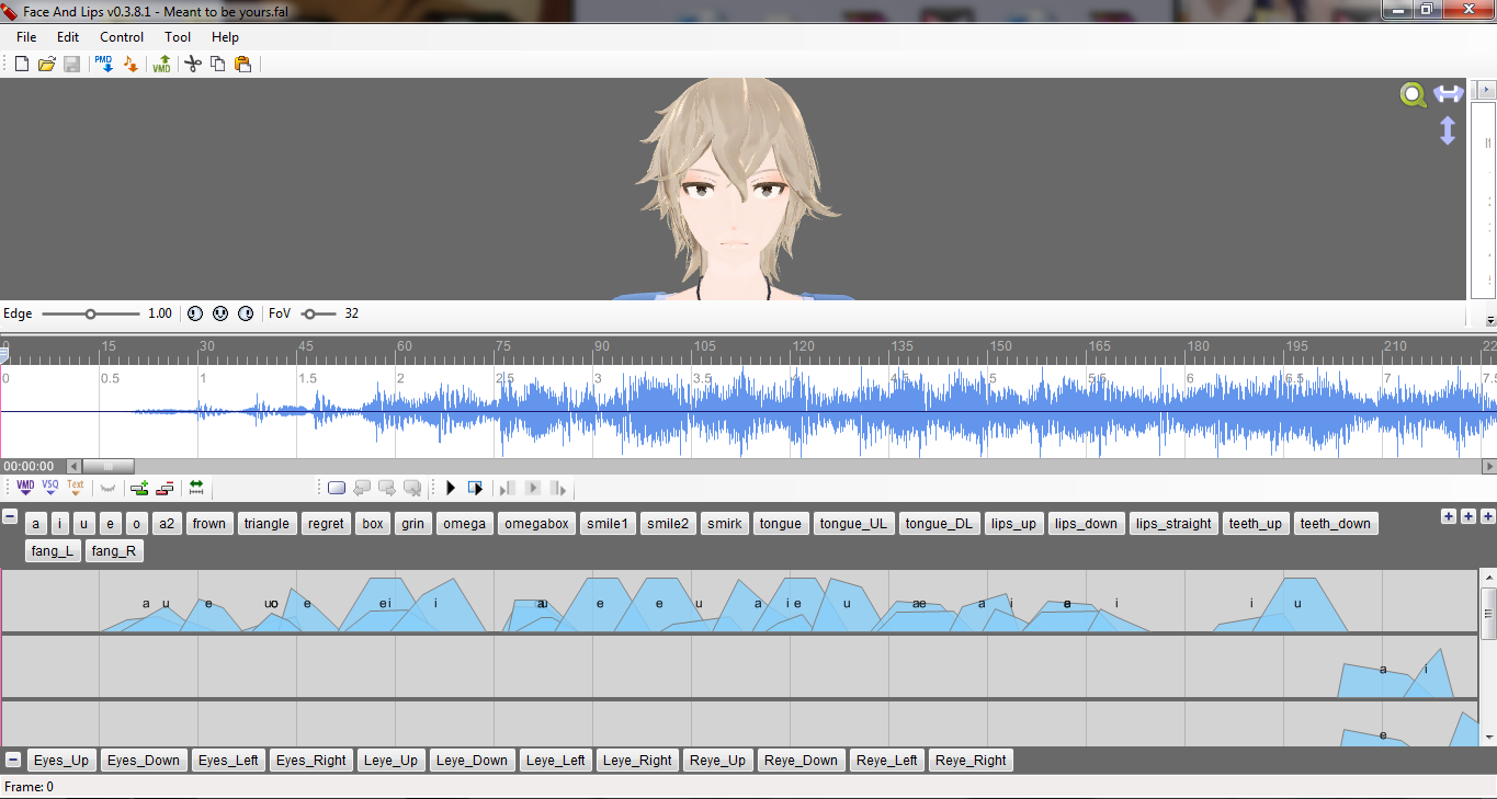 How to Lip-Sync in MMD using MoggProject Face and Lips