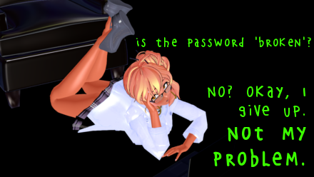 Troubleshoot MMD model secret password