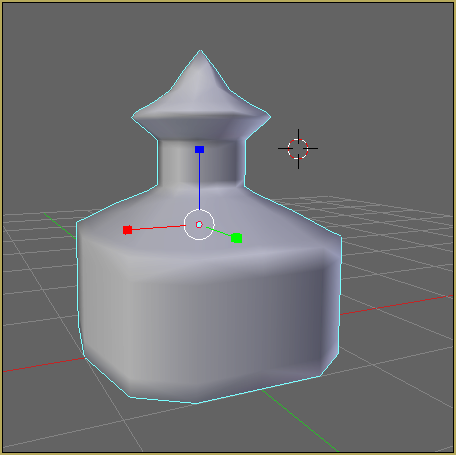 I created this model in Blender so I could show yo how to export an object for use in MMD... MMD in Blender